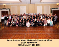 Group photo of Class of 1976 - 35th Reunion.