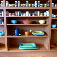 Spices and plates